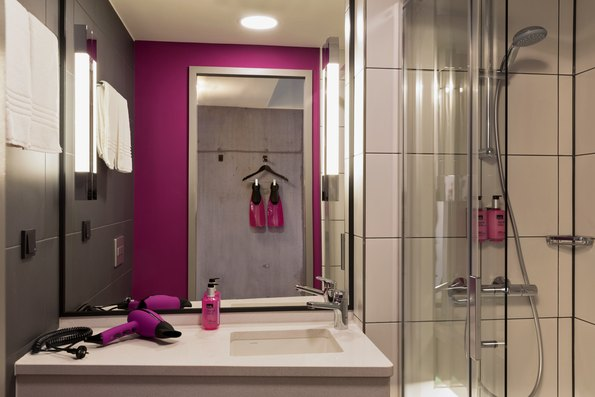 Moxy Sleeper Bathroom